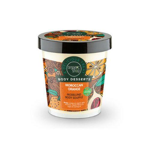 Organic Shop Body Desserts Moroccan Orange , Μαροκινό Πορτοκάλι Σουφλέ σμίλευσης σώματος 450ml