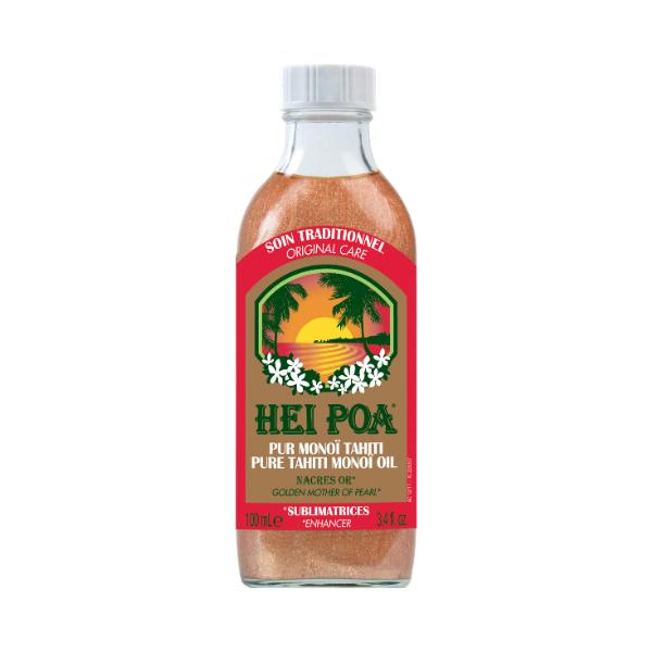 Λάδι Σώματος για Ενυδάτωση Hei Poa Monoi Oil Golden Mother of Pearl Nacres