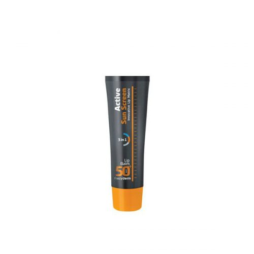 Frezyderm Active Sun Screen Lip Balm SPF 50, Αντηλιακό Στικ Χειλιών SPF 30, 15ml